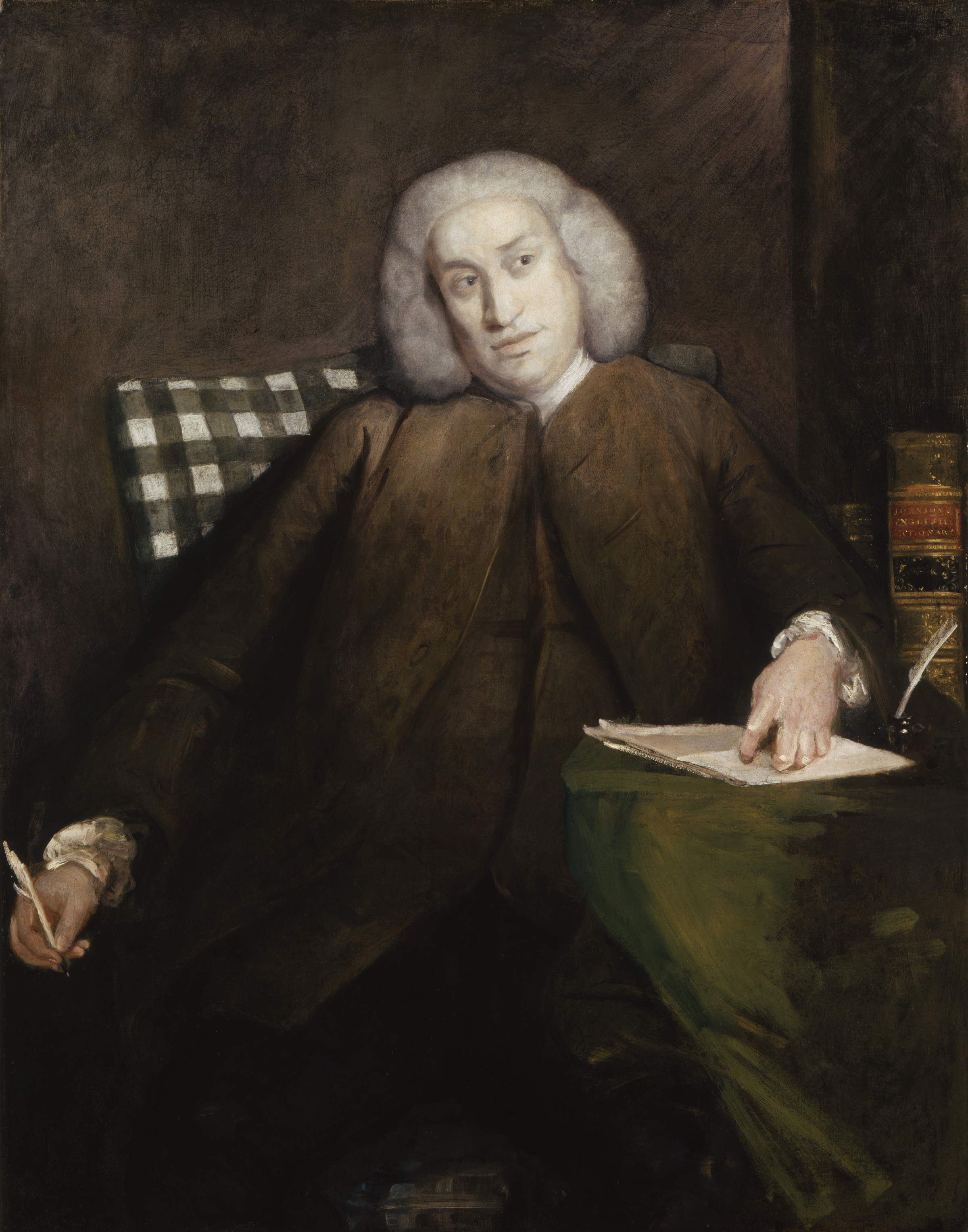 Image Credit: Samuel Johnson by Sir Joshua Reynolds, c.1756 © National Portrait Gallery, London