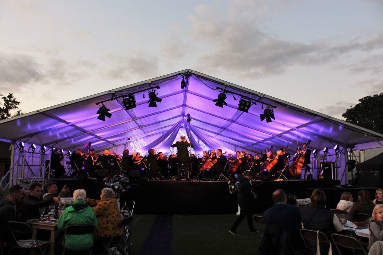 Lichfioeld Proms in Beacon Park