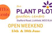 The Plant Plot Garden Centre Open Weekend with LITEs Events 15th-16th June