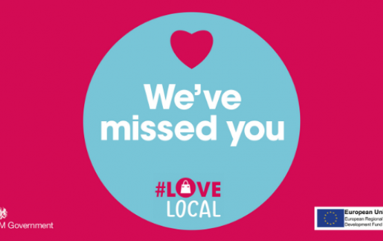 We've missed you #LoveLocal